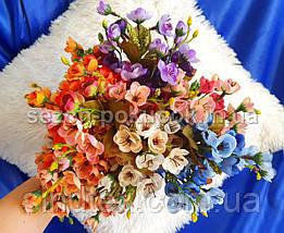 Искусственный букет весенника, 30см, Цвет - на фото (сп7нг-2858), фото 3