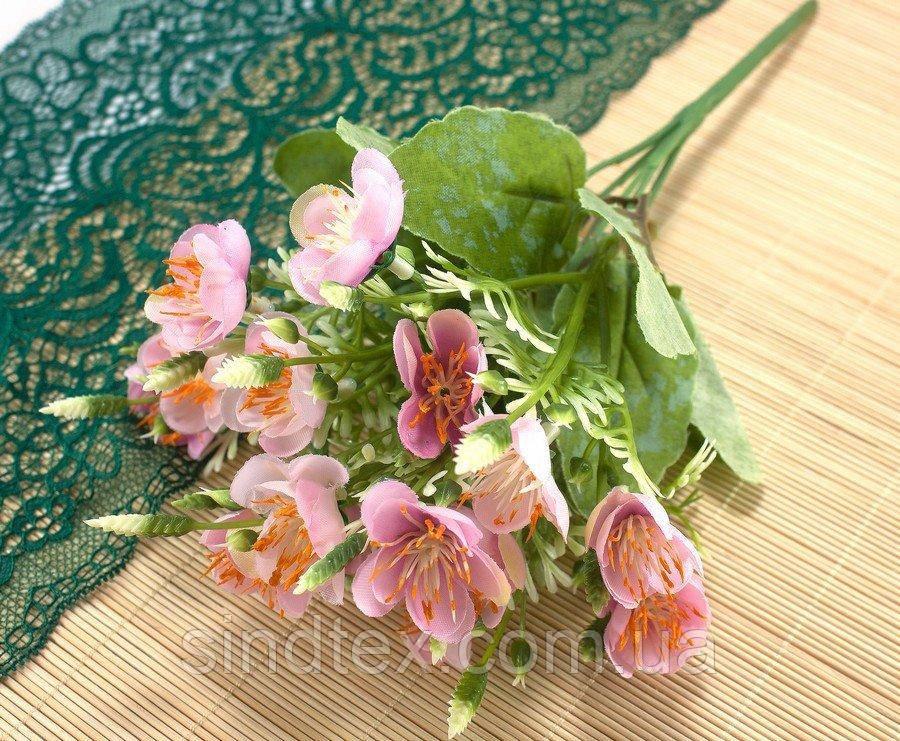 Букет весенника, 30см, цветы для декора, Розовый (сп7нг-2531)