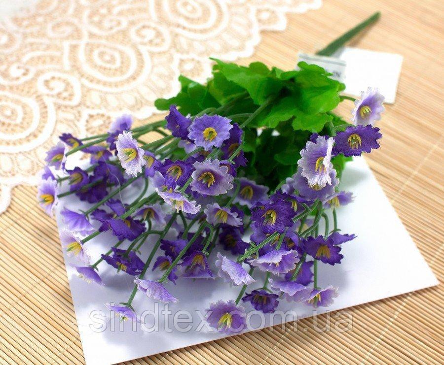 Букет Камнеломки, 25см, Искусственные цветы, Фиолетовый (сп7нг-2547)
