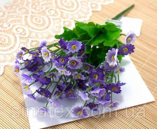 Букет Камнеломки, 25см, Искусственные цветы, Фиолетовый (сп7нг-2547), фото 2