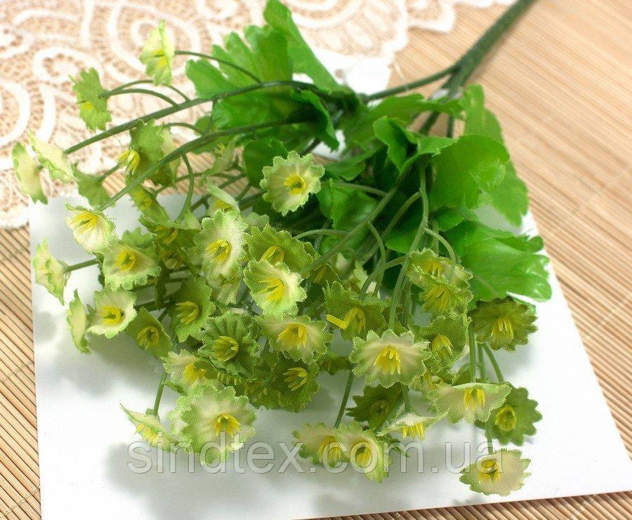 Букет Камнеломки, 25см, Искусственные цветы, Салатовый (сп7нг-2548)