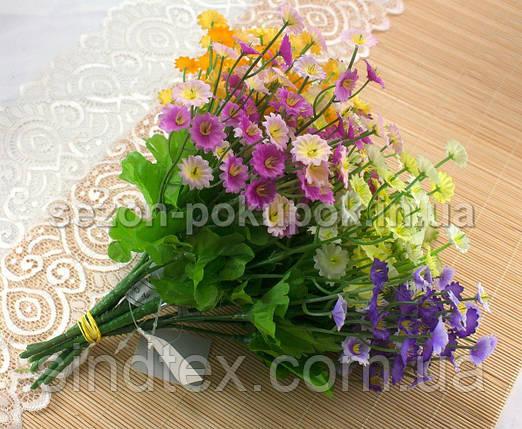 Букет Камнеломки, 25см, Искусственные цветы, Салатовый (сп7нг-2548), фото 2