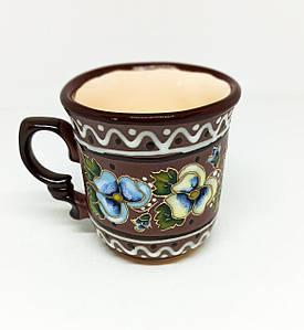 """Чашка кофейная 150мл """"Анютины глазки"""""""