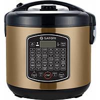 Мультиварка Satori SM-63970-5SL 900 Вт 63 Программы Антипригарная чаша Тушение Жарка Выпечка Стейк
