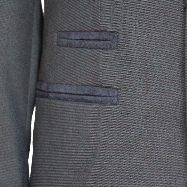 """Деловой школьный костюм для мальчика  """"Неаполь"""" серый с налокотниками"""