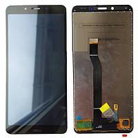 Дисплей Xiaomi Redmi 6 (HM6) / Redmi 6a (M1804C3CG / M1804C3CH / M1804C3CI) Black Original (PRC)
