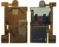 Шлейф Sony Ericsson W880 with SIM & mmC connectors