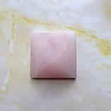 Пирамида из натурального розового кварца вес 48г, фото 2