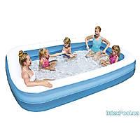 Детский надувной бассейн Bestway 54150 «Семейный», 305 х 183 х 46 см
