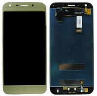 Дисплей ZTE Blade A6 / A6 lite (A0620) complete Gold