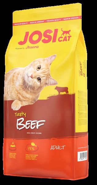 Josera JosiCat Beef 10кг - повнораціонний корм для кішок з яловичиною Йозикет Біф