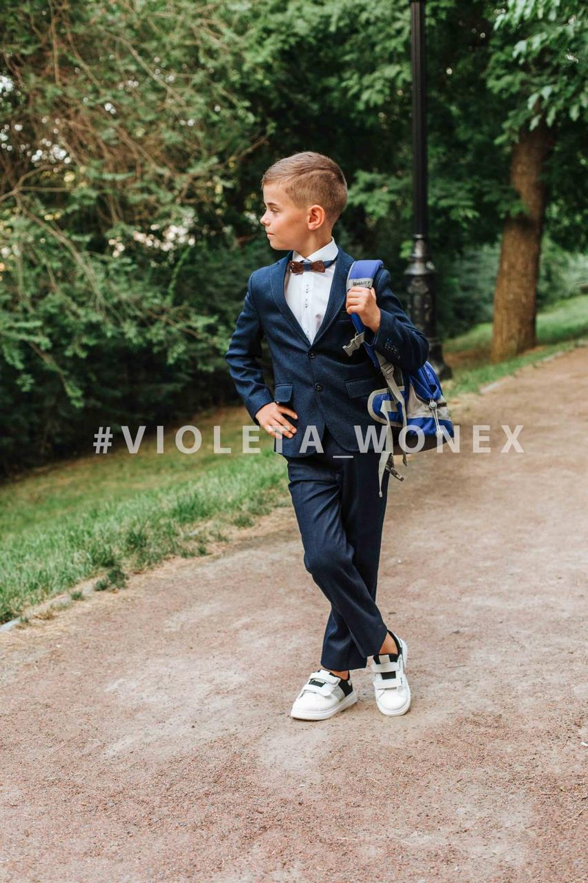 Кеды детские Violeta-Wonex 220-3 white-black