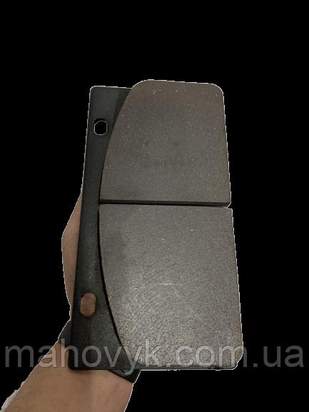 408107-108 Тормозная колодка (прямоугольная) на ZL50G, ZL30G, XZ636, XZ656, XG 955, XG 932, Foton