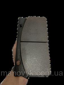 408107-108 Гальмівна колодка (прямокутна) на ZL50G, ZL30G, XZ636, XZ656, XG 955, XG 932, Foton