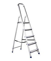 Лестница-стремянка алюминиевая 5 ступеней