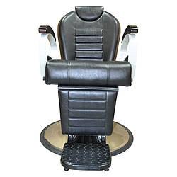 Кресла парикмахерские для барбершопа на гидравлике спинка регулируемая 0120
