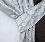 "Шторы из ткани блекаут ""Лён"" Код 014дк (291-546), фото 3"