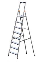 Драбина стрем'янка алюмінієва одностороння на 8 ступенів