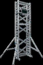 Вишка тура алюмінієва базовий комплект з майданчиком ВТ6