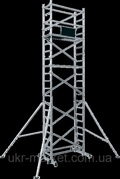 Вишка тура алюмінієва базовий комплект з майданчиком ВТ8