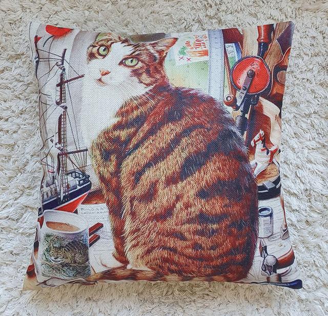 Наволочка декоративная на подушку (фото)