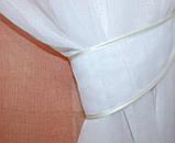 """Омбре"", ткань батист, под лён. На карниз 2-3м.  Цвет персиковый с белым 031дк 578т, фото 5"