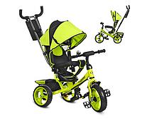 Детский 3-х колесный велосипед M 3113-4 колясочного типа TURBOTRIKE