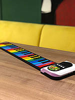 Детское гибкое цветное пианино | Дитяче піаніно | Гибкое пианино клавиатура Roll Up Piano
