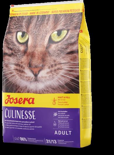 Josera Culinesse 4,25кг- корм для взрослых кошек привередливых ко вкусу продукта с лососем Кулинезе