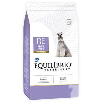 Сухой лечебный корм Equilibrio Veterinary Dog РЕНАЛ для собак с заболеваниями почек, 2 кг