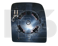 Вкладыш зеркала левый с обогревом TWIN GLASS верхний Jumpy 2007-12