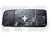 Вкладиш дзеркала прав. без обогр. выпукл. нижн. кругле кріплення Volkswagen Crafter 2006-