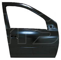Дверь передняя левая для Dacia Logan SDN/VAN с отв. под молдинг