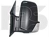 Зеркало лев. эл. с обогр. выпукл. 6 PIN +УК. пов. -подсвет SHORT ARM без кабеля Volkswagen Crafter 2006-