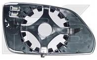 Вкладиш дзеркала лівий з обігрівом OCTAVIA 05-09