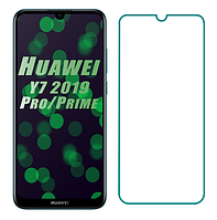 Защитное стекло для Huawei Y7 (2019) / Huawei Y7 Prime (2019) прозрачное (хуавей ю7)