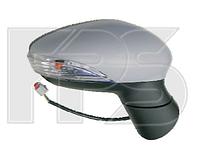 Зеркало правое электро асферическое без обогрева грунт 5pin с указателем поворота без подсветки Fiesta 2013-