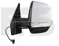 Зеркало левое электро с обогревом DOBLO 10-