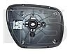 Вкладиш дзеркала лівий з обігрівом CX7 2006-12