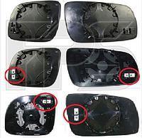 Вкладиш дзеркала лівий з обігрівом асферич BIG Ibiza Cordoba 1999-02