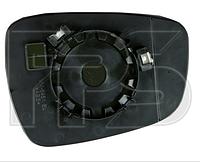 Вкладыш зеркала левый с обогревом Hyundai Accent 2011-15