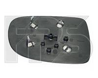 Вкладыш зеркала правый с обогревом Corsa С 2004-07