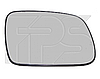 Вкладыш зеркала левый с обогревом 2003-06 Xsara 1997-06