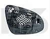 Вкладыш зеркала прав. с обогр. выпукл. Toyota Yaris 2011-14