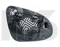 Вкладиш дзеркала прав. з обогр. выпукл. Toyota Yaris 2011-14