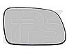 Вкладыш зеркала правый с обогревом выпуклый 307 2005-07