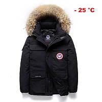Мужская зимняя куртка АЛЯСКА ПУХОВИК. Очень тёплая! 3 цвета! Размеры 42-48