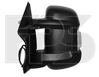 Зеркало левое электро с обогревом с указателем поворота без подсветки с датчиком температуры Jumper 2006-14