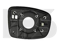 Вкладыш зеркала левый с обогревом Hyundai i10 2010-14