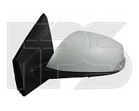 Зеркало правое электро с обогревом выпуклое грунт 7pin с указателем поворота без подсветки Megane 2009-13